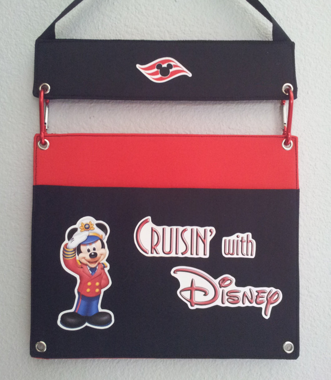 Fish Extender - DCL - Disney Cruise - One Pocket Flexible Fish Extender - FE - Fish Exchange - Mickey - Cruise Gift Exchange