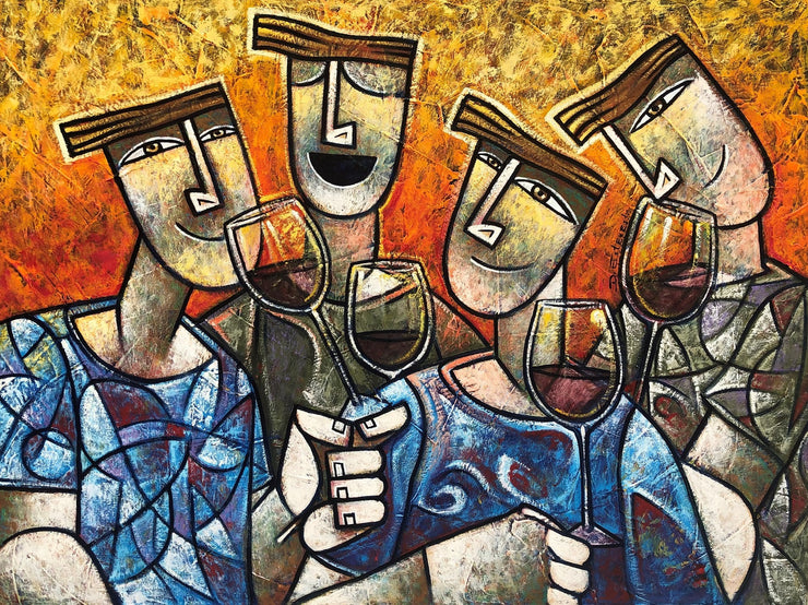 Amigos do Vinho, por Dennis Esteves