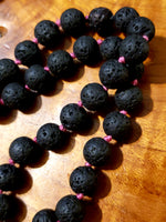 Lava stone Mala/necklace