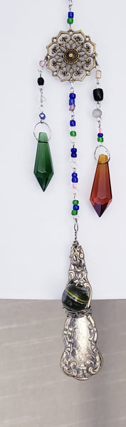 Wind chime silverware