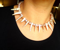 City girl Pearl necklace