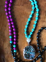 Psychedelic Mala Necklace