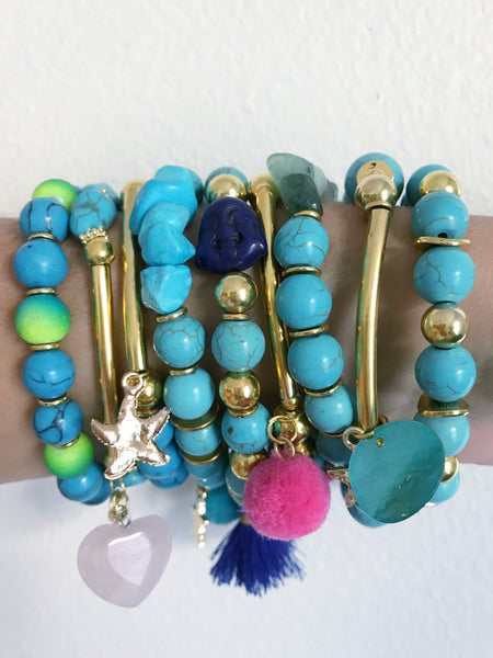 Pura Vida Stackable Bracelets