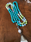 Spring Fling Mala Necklace