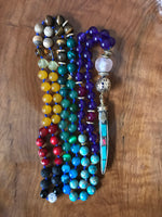 All the Colors of the Rainbow Mala Necklace