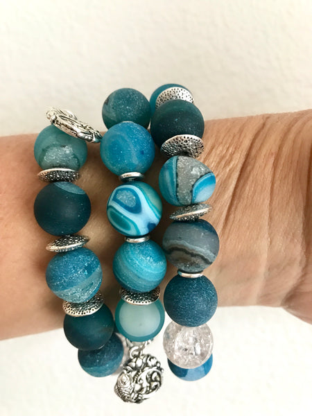 Waves Stackable Bracelets