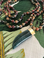 Welcome to the Jungle Mala Necklace