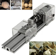 Load image into Gallery viewer, DIY Woodworking Lathe Drill Machine