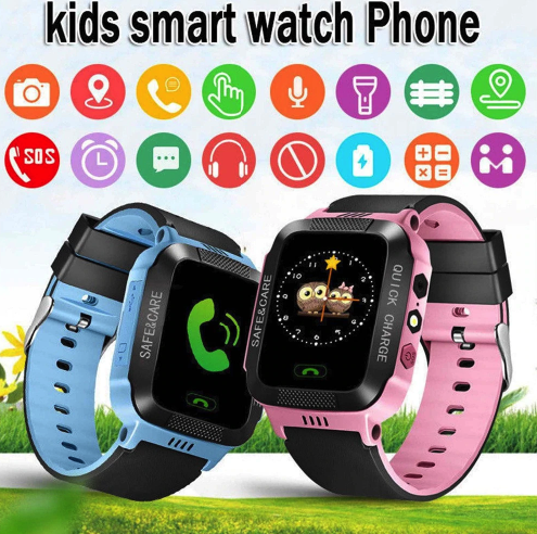 Kids Smartwatch with Remote Camera and Calls