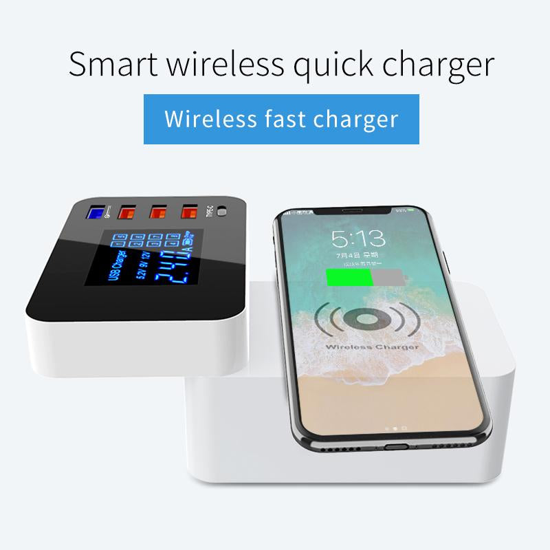 QI Wireless Charger Quick Charge 3.0 Smart USB