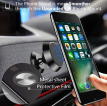Load image into Gallery viewer, Magnetic Car Phone Holder Universal Mount with Swivel