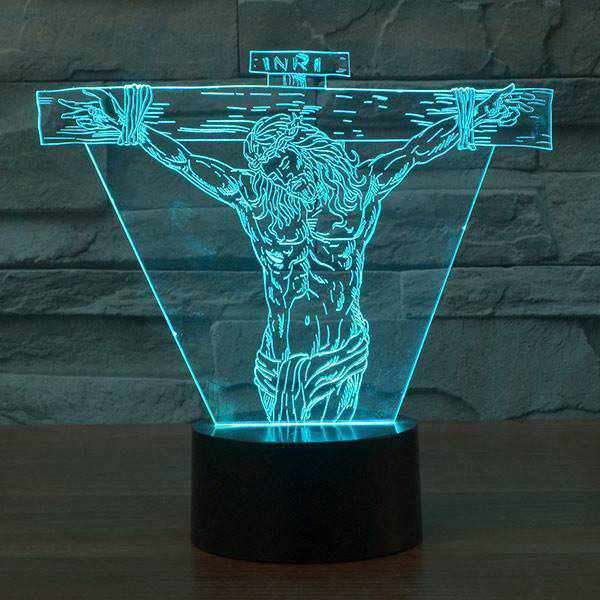 Jesus LED Night Light 3D