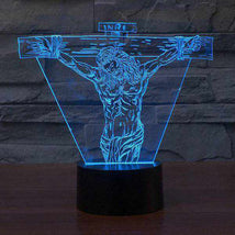 Load image into Gallery viewer, Jesus LED Night Light 3D