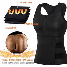 Load image into Gallery viewer, Sauna Vest for Women