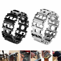 Load image into Gallery viewer, Unisex Stainless Bracelet With Multi tools