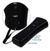 Load image into Gallery viewer, 3 In 1 electronic handheld dog repellent