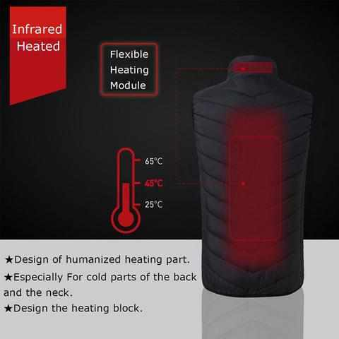 heated vest online at low price