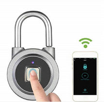Load image into Gallery viewer, Tapplock bluetooth smart fingerprint padlock