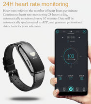 Load image into Gallery viewer, Smart Bracelet With Bluetooth Headset