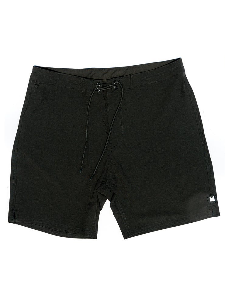 Boardshort – Blackness (4 Way Stretch Tech)