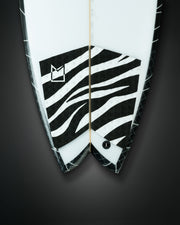 TWIN FIN WILD Black/White
