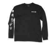Evolved L/S Tee - Black