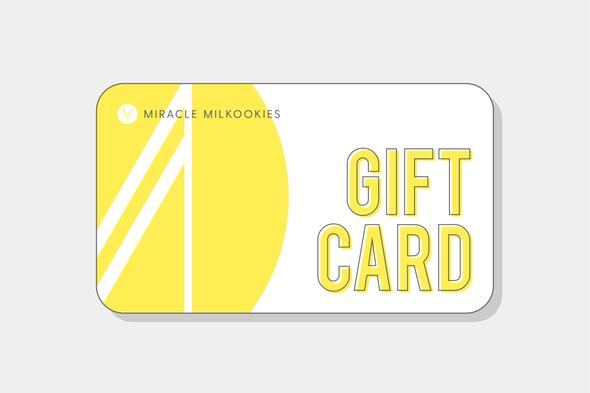 Miracle Milkookies Gift Cards