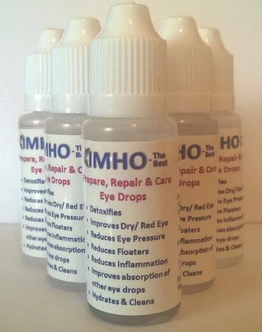 IMHO The Best - (MSM) Prepare, Repair & Care eye drops, for people & animals.