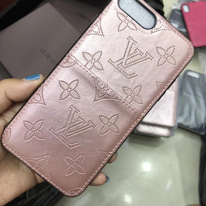 Silver Rose Leather Case Back Cover iPhone XR XS XS Max - Shop Louis Vuitton, Gucci & Hermes phone cases for iPhone & Samsung!