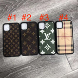 2019 New Leather Back Cover TPU Case iPhone 11/11 Pro/11Pro Max - Shop Louis Vuitton, Gucci & Hermes phone cases for iPhone & Samsung!
