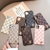 2020 Arrival Leather Back Cover Card Slot iPhone 12 / 12 mini / 12 Pro / 12 Pro Max