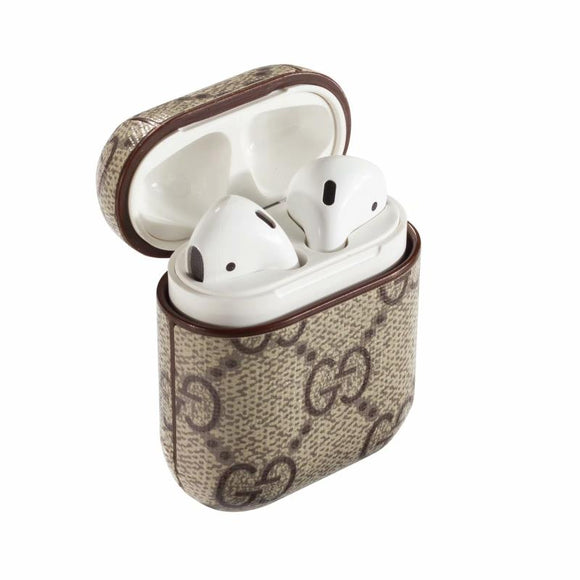 Lux AirPods 1,2 Case Beige