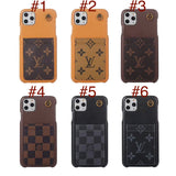 Accent Leather Case Front Card Slot iPhone 6 7 8 Plus X Xs Xr XS Max 11 Pro Max
