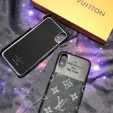 Front Card Slot Back Cover Case iPhone 6 7 8 Plus X - Shop Louis Vuitton, Gucci & Hermes phone cases for iPhone & Samsung!
