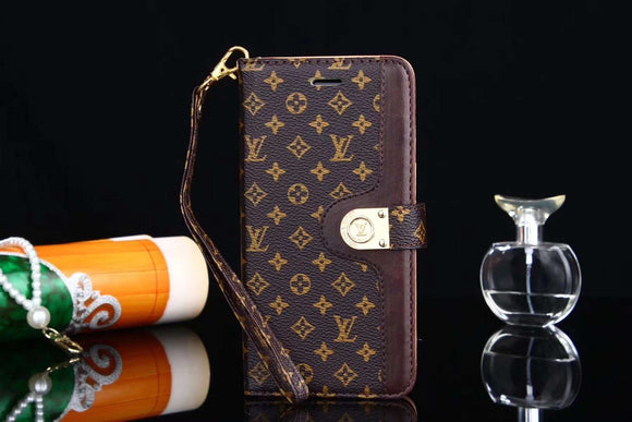 Small Letters Folio Wallet Leather Case Cover iPhone XR XS XS Max - Shop Louis Vuitton, Gucci & Hermes phone cases for iPhone & Samsung!