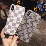 Leather Back Cover Case iPhone XR XS XS Max - Shop Louis Vuitton, Gucci & Hermes phone cases for iPhone & Samsung!