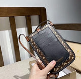 Brown Leather Crossbody Purse Cell Phone Travel Bag Belt Holster Wallet Case for iPhone. 6 7 8 Plus X Xs Xr Xs Max 11 Pro Max