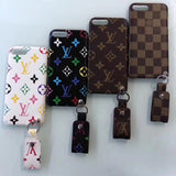 Leather Back Case Cover  iPhone  6 7 8 Plus X - Shop Louis Vuitton, Gucci & Hermes phone cases for iPhone & Samsung!