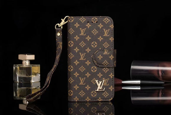 Small Letters  Leather Folio  Wallet Case iPhone XS XR XS Max - Shop Louis Vuitton, Gucci & Hermes phone cases for iPhone & Samsung!