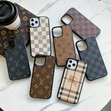 Leather iPhone Case Back Cover  iPhone 11/11Pro/11Pro Max/ 12 /12 Mini/12 Pro/ 12 Pro Max