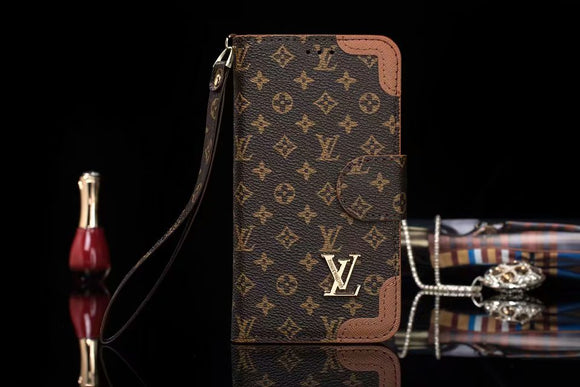 Brown Edges Wallet Case iPhone XR XS XS MAX - Shop Louis Vuitton, Gucci & Hermes phone cases for iPhone & Samsung!