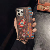 2020 Embroidery Style Back Cover Case iPhone 11 /11 Pro/ 11 Pro Max / 12 / 12 Mini/ 12 Pro / 12 Pro Max