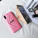 Leather Card Slot Case Cover iPhone  XR XS XS Max