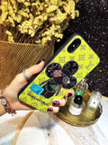 Yellow Back Cover  Case For Iphone 7 8 Plus X XR XS XS Max