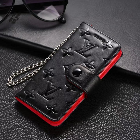 2019 Genuine Leather Wallet Case Iphone 7 8 Plus X XR XS XS Max - Shop Louis Vuitton, Gucci & Hermes phone cases for iPhone & Samsung!