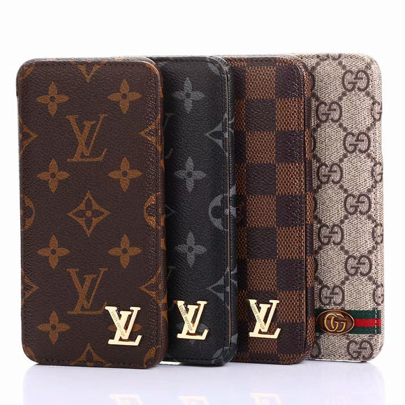 2019 Arrival Fashion Classic Style Wallet Case Cover iPhone 7 8 Plus X XR XS XS Max - Shop Louis Vuitton, Gucci & Hermes phone cases for iPhone & Samsung!