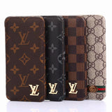 2019 Arrival Fashion Classic Style Wallet Case Cover iPhone 7 8 Plus X XR XS XS Max