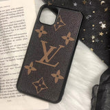 2019 New Leather Back Cover TPU Case iPhone 11  Pro Max - Shop Louis Vuitton, Gucci & Hermes phone cases for iPhone & Samsung!