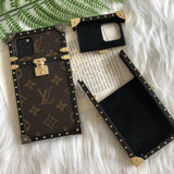 2019 Arrival Metal Trunk Case iPhone 11/11Pro/11Pro Max - Shop Louis Vuitton, Gucci & Hermes phone cases for iPhone & Samsung!