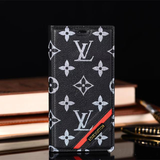 Leather Wallet Engle Stripe Case iPhone XR XS XS MAX - Shop Louis Vuitton, Gucci & Hermes phone cases for iPhone & Samsung!